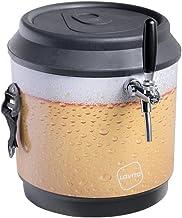 Chopeira a Gelo Lavita cooler 21l - preto beer com serpentina em alumínio - sem torneira