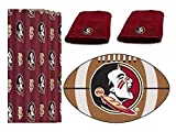 Northwest NCAA Florida State Seminoles 4pc Bath Set