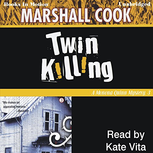 Twin Killing audiobook cover art