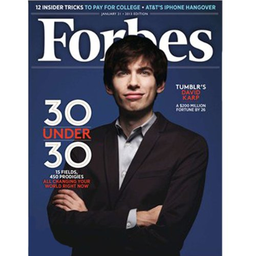 Forbes, January 7, 2013 cover art