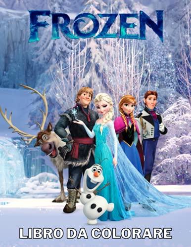 Frozen Libro Da Colorare