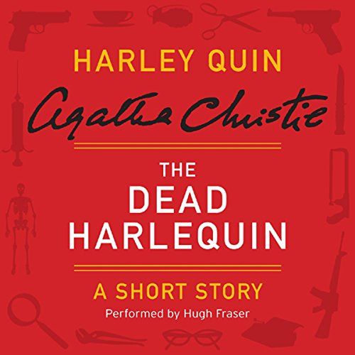The Dead Harlequin audiobook cover art