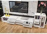 Mueble para TV LGFSG Mueble de televisión de Madera Moderna Sala de Estar Soporte de...