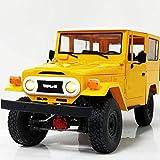 Una y dieciséis 4Wd Escalada camiones fuera de carretera control remoto Accesorios coche modificado actualización Boy Toy Modelo azul, conducir fuera de carretera de vehículos de juguete, coche electr