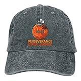 Nsafinhwv Gorras de béisbol Mars 2020-Perseverance Rover Landing Gorra de béisbol de algodón Desgastado Lavado Vintage Unisex Gorra de papá de Mezclilla Ajustable