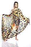 Pañuelo Animal Print - Tamaño ideal para utilizar como foulard, chal, pareo, blusa, turbante, vestido. ¡Alta calidad en un producto exclusivo y diferente!
