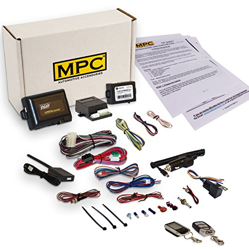 Complete 2-Way LCD Remote Start Kit with Keyless Entry for 2009-2013 Mazda 3 - Firmware Preloaded