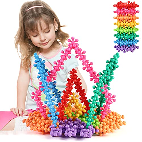 TOMYOU 200 Pieces Building Blocks Kids STEM Toys Educational Building Toys Discs Sets Interlocking...
