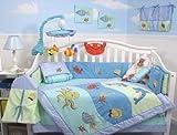 SoHo Baby Crib Bedding 9 Piece Set, OceanFun