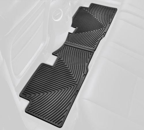WeatherTech W152 All-Weather Trim to Fit Rear Rubber Mats for Honda Pilot, Black