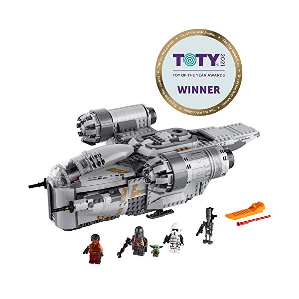 LEGO Star Wars: The Mandalorian The Razor Crest 75292 Exclusive Building Kit, New 2020 (1,023 Pieces) 2