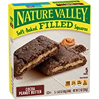 5-Count Nature Valley Soft Baked Filled Squares Cocoa Peanut Butter