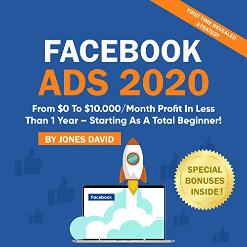 Facebook Ads 2020 audiobook cover art