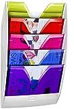 CEP 154 M HM - Expositor de pared con 5 separadores, , color blanco y happy multicolor