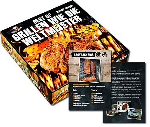 Best of Grillen wie die Weltmeister: Die Geschenk-Box mit 52 Rezeptkarten