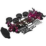 Hobbypower 1/10 Alloy & Carbon RWD Drift Racing Car Frame Body Kit for Sakura D4
