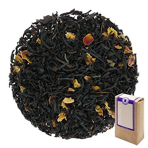 Num. 1350: Te negro \Flor tropical\ - hojas sueltas - 250 g - GAIWAN® GERMANY - te negro de la India y China, petalos de rosa