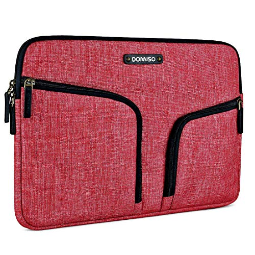 DOMISO 10,1-10,5 Zoll Wasserdicht Laptophülle Canvas Tablet Schutzhülle Tasche für 9.7