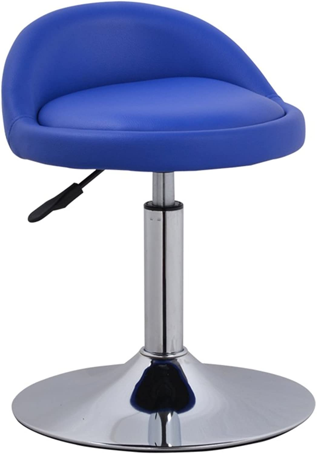 Bar chairs, backrest chairs, lift chairs, simple front chairs, European high stool, bar stool -by TIANTA ( color   bluee )