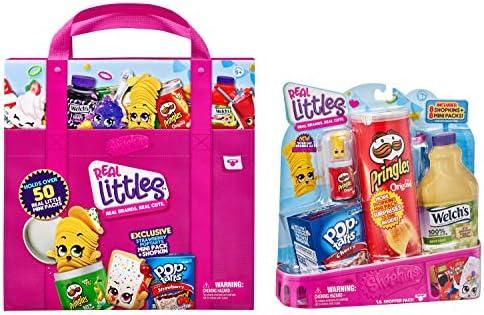 Shopkins Real Littles Bundle Lil Shopper Pack Collectors Case Multicolor 57745 product image