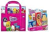 Shopkins Real Littles Bundle: Lil' Shopper Pack & Collectors Case, Multicolor (57745)