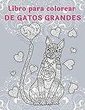 Libro para colorear de gatos grandes -