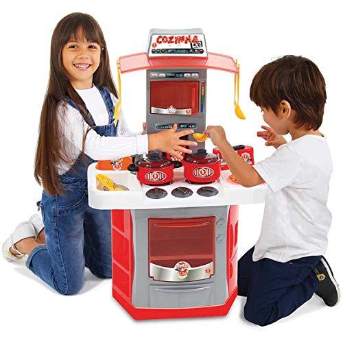 Cozinha 4 0 Infantil Big Star Vermelho