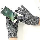 Gants Homme tactiles pour Google Pixel 3 XL Smartphone Taille M 3 Doigts...