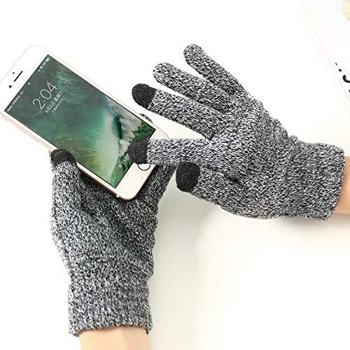 Herren Touchscreen-Handschuhe für Gionee Marathon M5 Plus, Schwarz