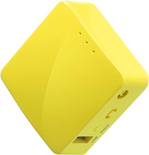 GL.iNET GL-MT300N-V2 (Mango) Wireless Mini Portable VPN Travel Router, Mobile Hotspot in Pocket, WiFi Repeater Bridge...