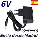 Cargador Corriente 6V Reemplazo Vigilabebes Tigex Freedom Recambio Replacement
