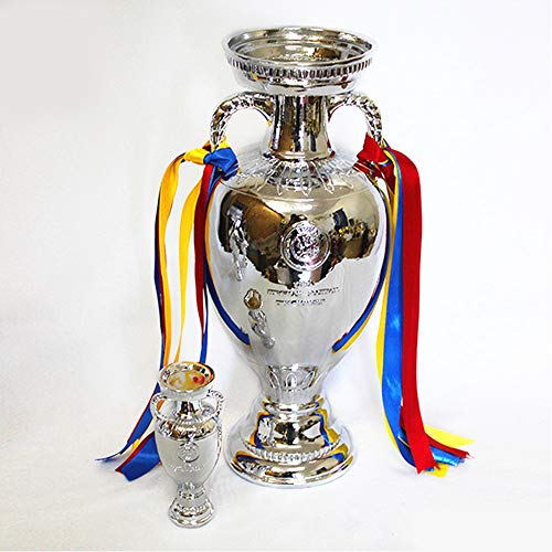 HTYX 2016 Football Europe Trophy for UEFA Champions League Soccer Cup Fan Memorabilia Crafts Ornament Model Resin replicas Anti-Corrosion Does not Fade,26cm