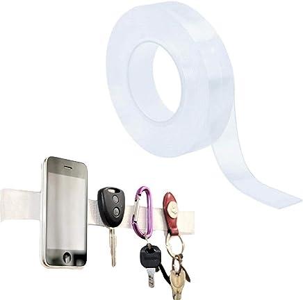 Faburo 4 Rolle Fashion Tape Doppelseitiges Klebeband Unsichtbare Kleber f/ür Unterw/äsche Niedrige Ausschnitt Tr/ägerlose Kleidung mit Offenem R/ücken
