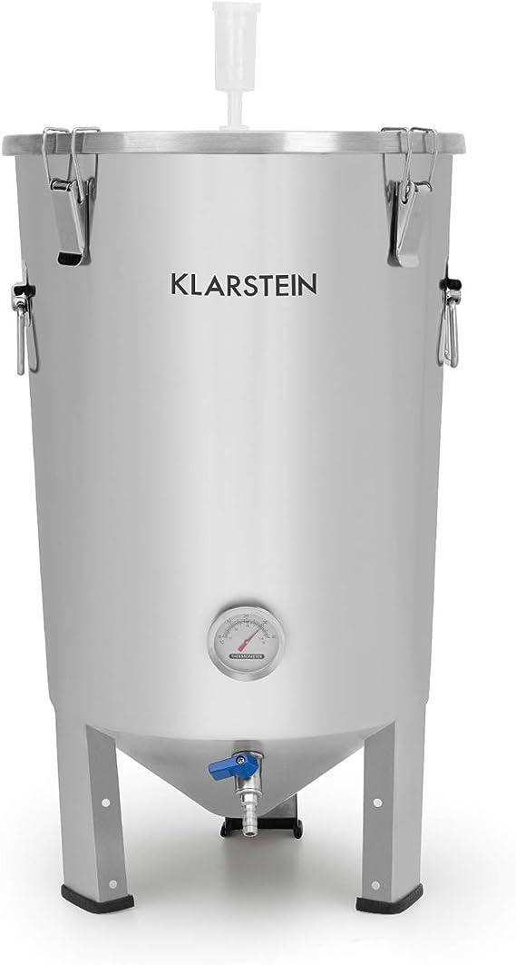 Klarstein Gärkeller Fermenter 3000 - Fermentation Kettle, Mash Kettle