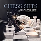 Chess Sets Calendar 2021: 16 Month Calendar