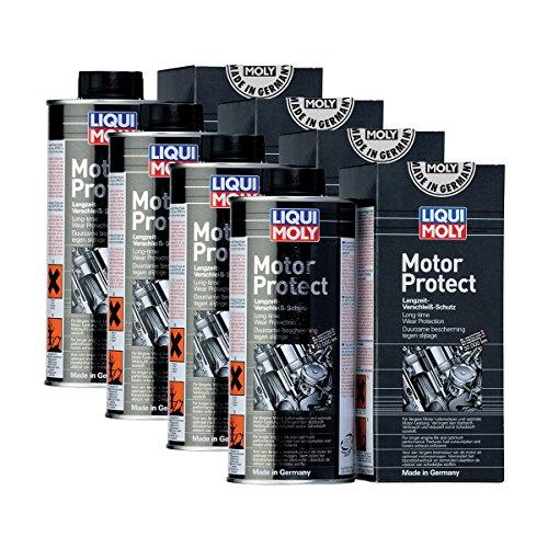 Liqui Moly 4X 1018 Motor Protect Langzeit-Motorschutz 500ml