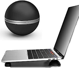 ARINKURIN ノートパソコン 高さ角度調整 スタンド ボール 保証書付 軽量 持ち運び 便利 アルミ&ラバー製 PC ラップトップ スタンド 冷却 放熱 macbook 球体 丸形 台座 台 卓上 デスクワーク ガジェット