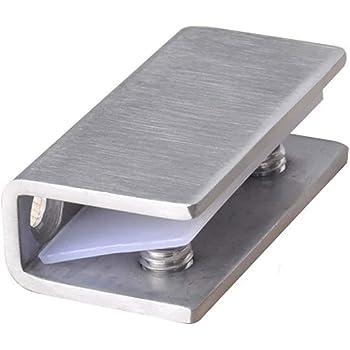 2 bisagras de cristal para puerta de ducha de 8 a 12 mm: Amazon.es: Bricolaje y herramientas