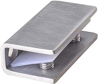 2 bisagras de cristal para puerta de ducha de 8 a 12 mm