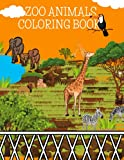ZOO ANIMALS: COLORING BOOK /8.5X11/ /25 COLORING PAGES