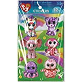 Darice BB0046S Girl Beanie Boos Stickers (12 Pack)