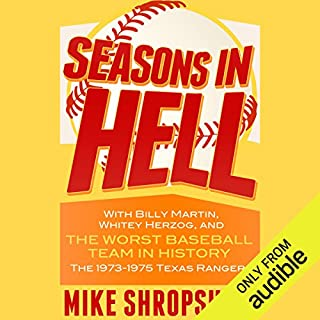 Seasons in Hell     With Billy Martin, Whitey Herzog and