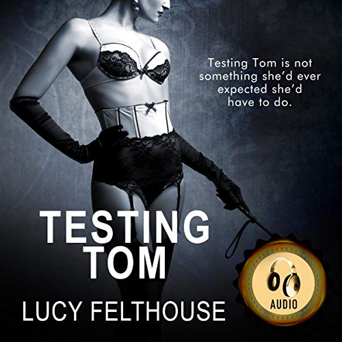 Testing Tom audiobook cover art