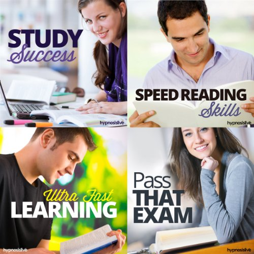 Power Student Hypnosis Bundle audiobook cover art