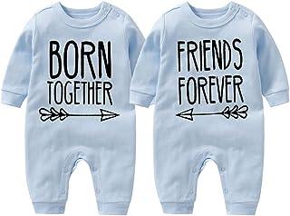 culbutomind Beste Freunde Für Immer Fun Baby-Strampler Baby Geschenke Geburt Erstausstattung