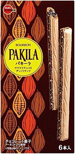 ブルボン パキーラ 10個