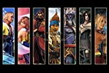 PrimePoster - Final Fantasy X HD Remaster All Characters Poster Glossy Finish Made in USA - YFFX004 (24' x 36' (61cm x 91.5cm))