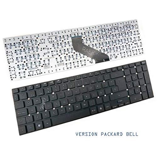 IFINGER Teclado Espa/ñol para PK130HQ3A18 P5WS0 Packard Bell
