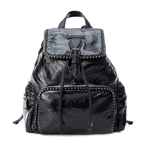 XTI 86133, Bolso mochila para Mujer, Negro (Negro), 23x30x12