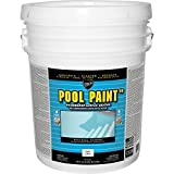 7. Pool Paint 5-gal. White Semi-Gloss Acrylic Exterior Paint